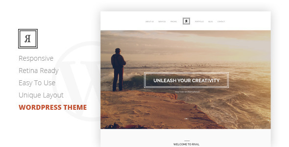 ThemeForest Rival A One Page Multi-Purpose Wordpress Theme 7804192