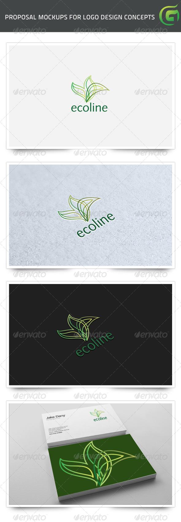 GraphicRiver Ecoline 7847043