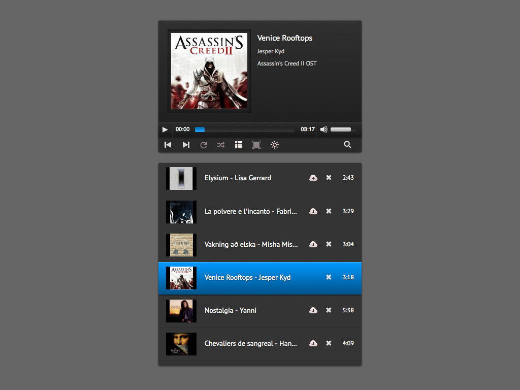 Vimuse html5 media player by cosmocoder codecanyon for Html5 video player template