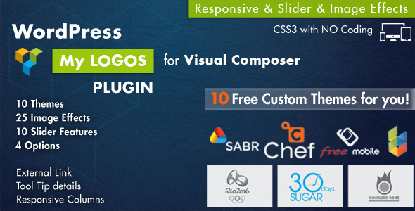 CodeCanyon Logos Showcase for Visual Composer WordPress Plugi 7847436