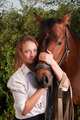 young woman and horse - PhotoDune Item for Sale