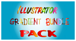 Illustrator Gradient Bundle Pack Collection