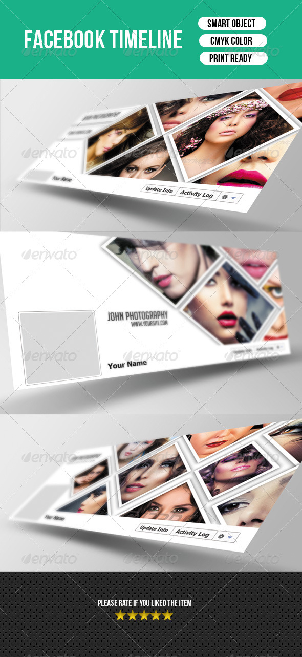 GraphicRiver Photographer Timeline-V01 7849143