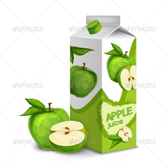 GraphicRiver Apple Juice Pack 7849148