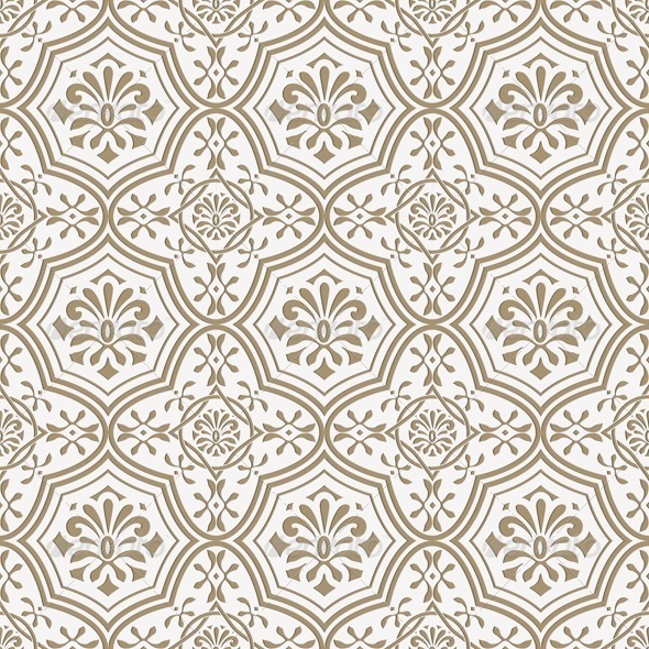 GraphicRiver Seamless Paper Cut Floral Pattern Indian 7849318