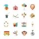Circus Icons Set - GraphicRiver Item for Sale