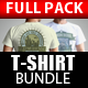 T-Shirt Mock Up Bundle - GraphicRiver Item for Sale