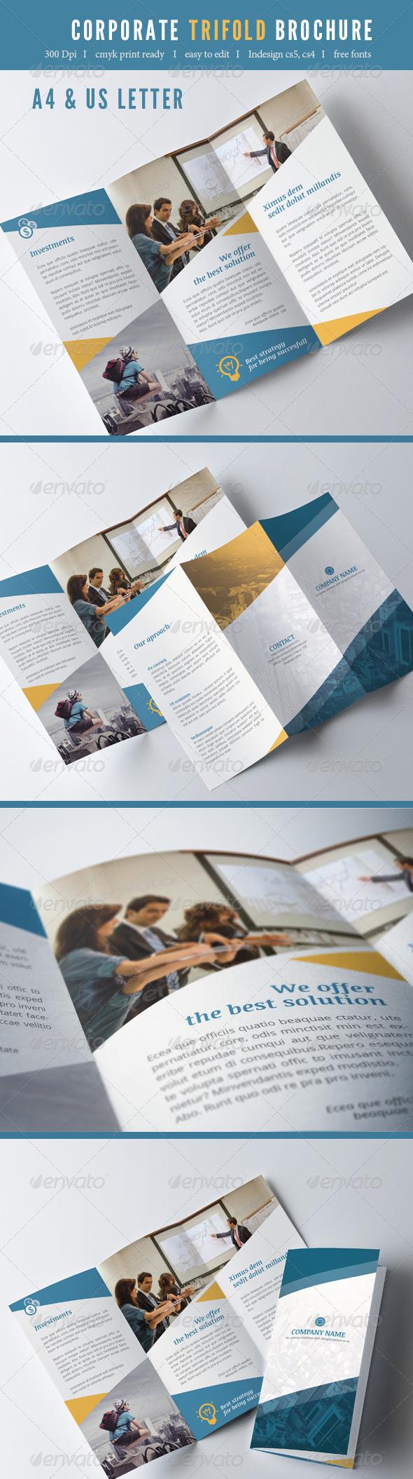 GraphicRiver Trifold Brochure 7821169