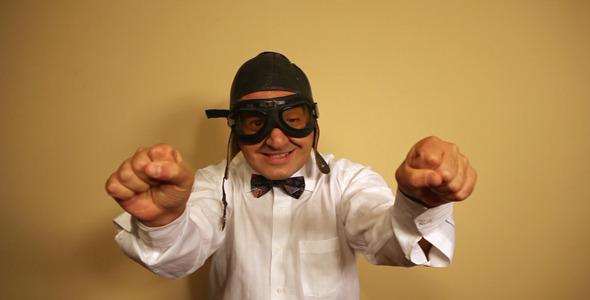 Comedian Acting As Pilot