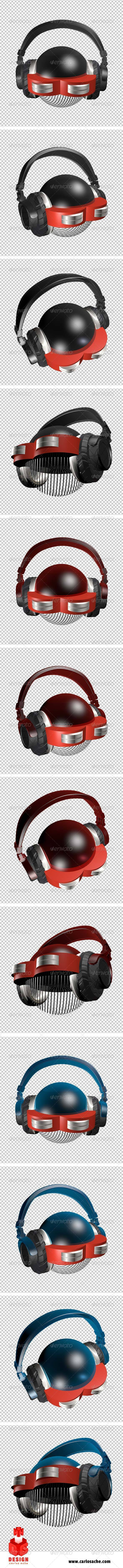 GraphicRiver Dj Dron 7851520