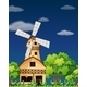 Wooden Barnhouse in the Forest - GraphicRiver Item for Sale
