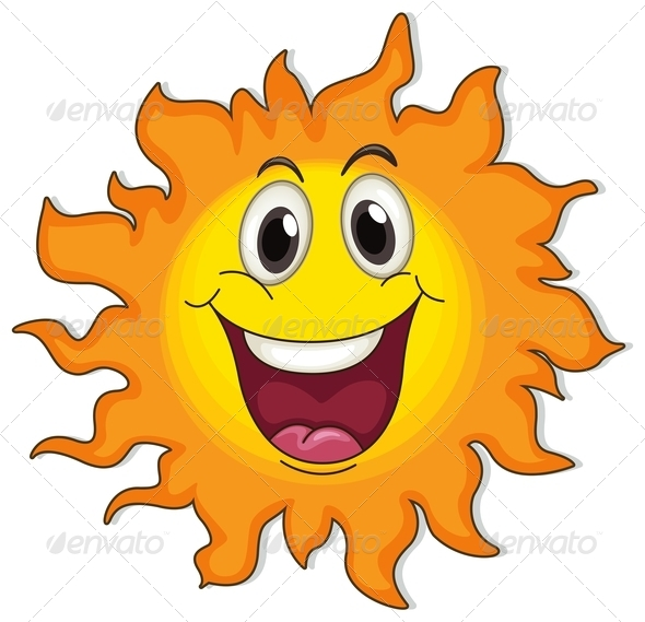 GraphicRiver A very happy sun 7851917