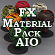 114 Standard FX Materials Pack AIO for Cinema 4D
