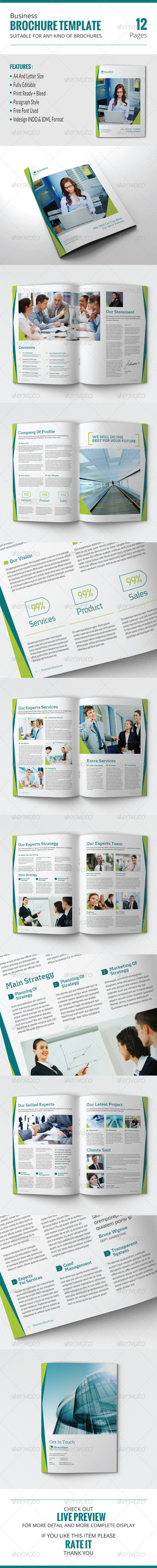 GraphicRiver Business Brochure Template 7852286