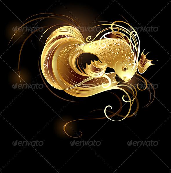 GraphicRiver Jeweler Goldfish 7852523