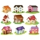 Different houses - GraphicRiver Item for Sale