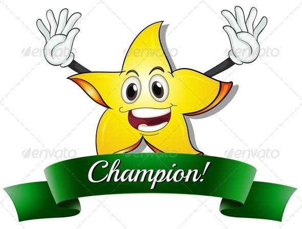 GraphicRiver A champion star 7852740