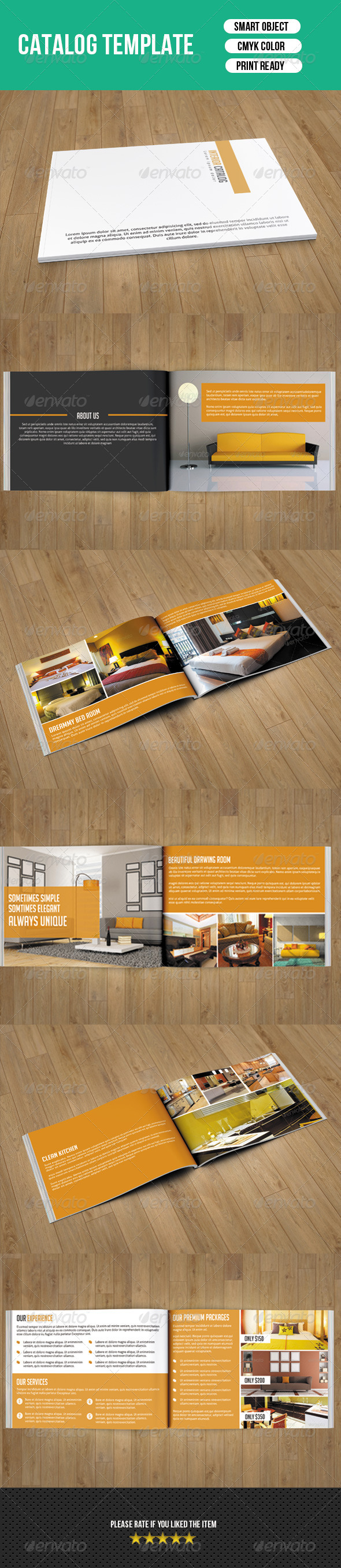 GraphicRiver Interior Catalog Template-V03 7829692