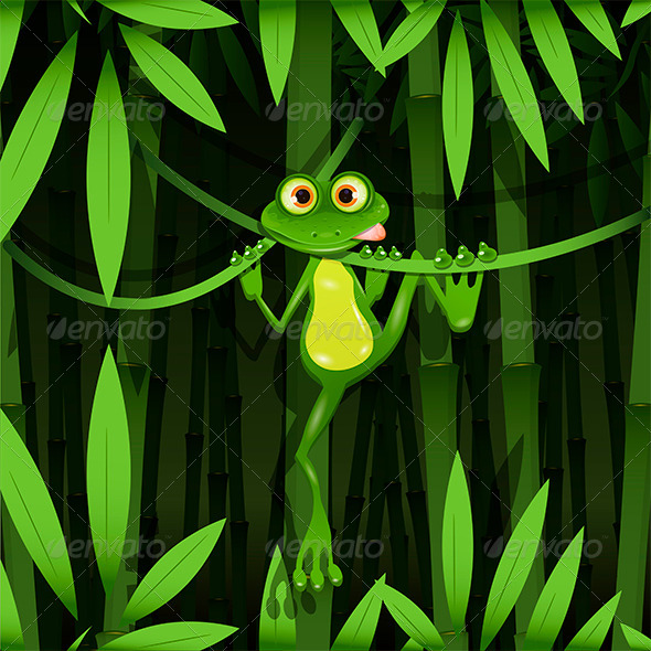 GraphicRiver Frog in a Jungle 7852964