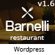 Barnelli - Restaurant Responsive Wordpress Theme - ThemeForest Item for Sale