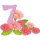 Seven Blooming Flowers