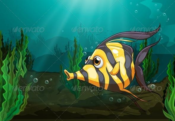 GraphicRiver Big Fish Under the Sea 7853523