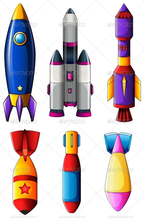 GraphicRiver Explosive Rockets 7853531