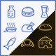 Just Nice Cooking Icons - GraphicRiver Item for Sale