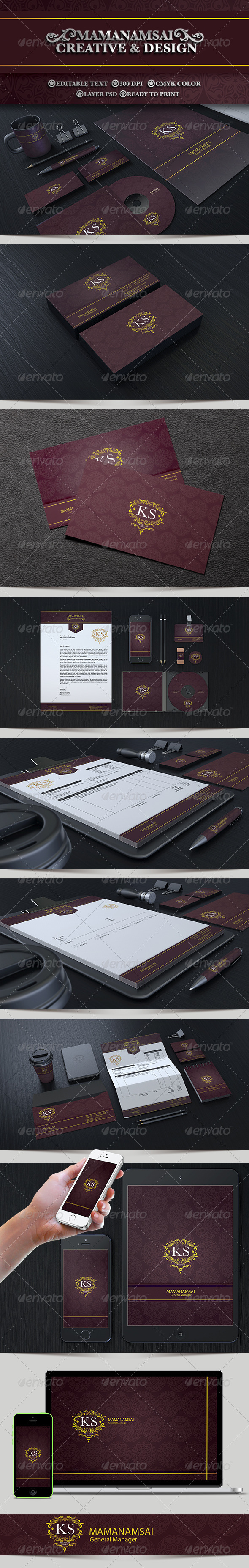 GraphicRiver Corporate Identity 7853615