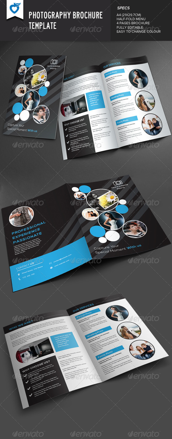 GraphicRiver Photography Brochure v2 7853631