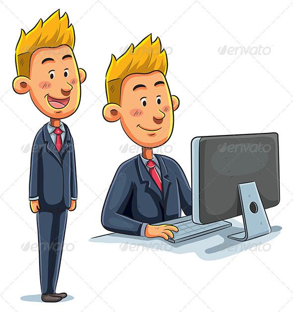 GraphicRiver Businessman 7853642