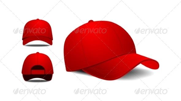 GraphicRiver Baseball Cap 7853644