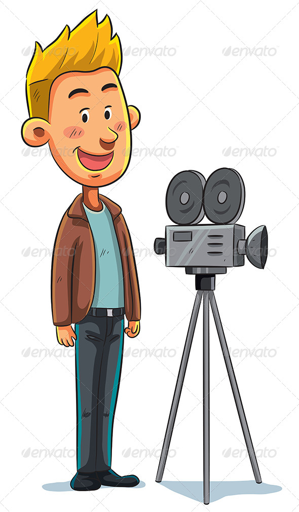GraphicRiver Cameraman 7853645