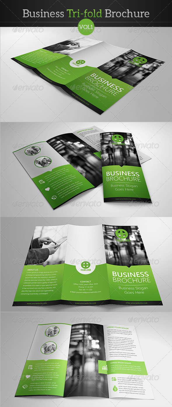 GraphicRiver Business Tri-fold Brochure 7853682