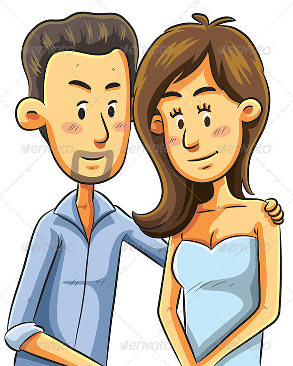 GraphicRiver Couple Portrait 7853686