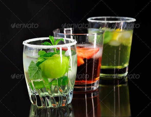 cold drinks - Stock Photo - Images