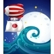 Balloon with the flag of Japan - GraphicRiver Item for Sale