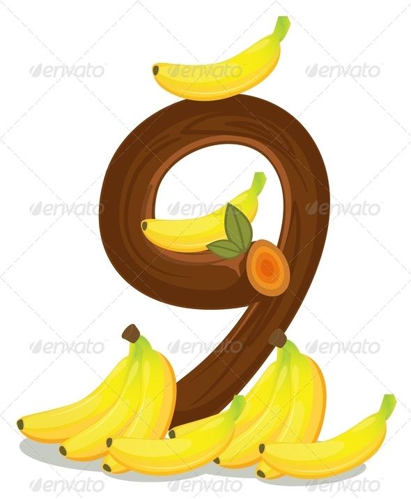 GraphicRiver Nine Bananas 7854275