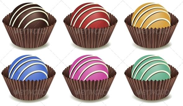 GraphicRiver Sweet Chocolates 7854312