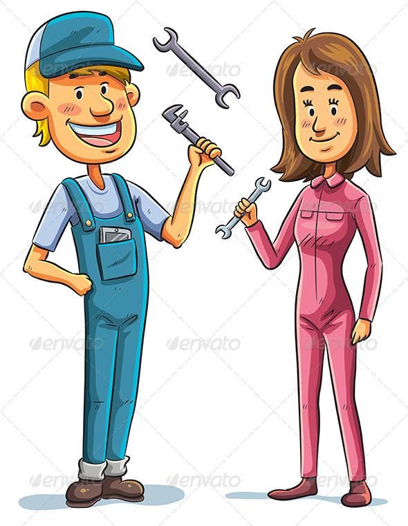 GraphicRiver Mechanic 7854707