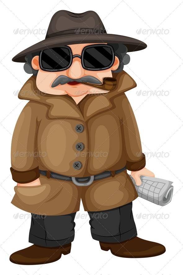 GraphicRiver Detective 7854714