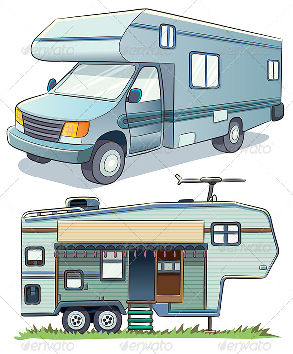 GraphicRiver RV Car 7854900