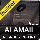 ALA MAIL - Responsive Email With Template Builder - ThemeForest Item for Sale