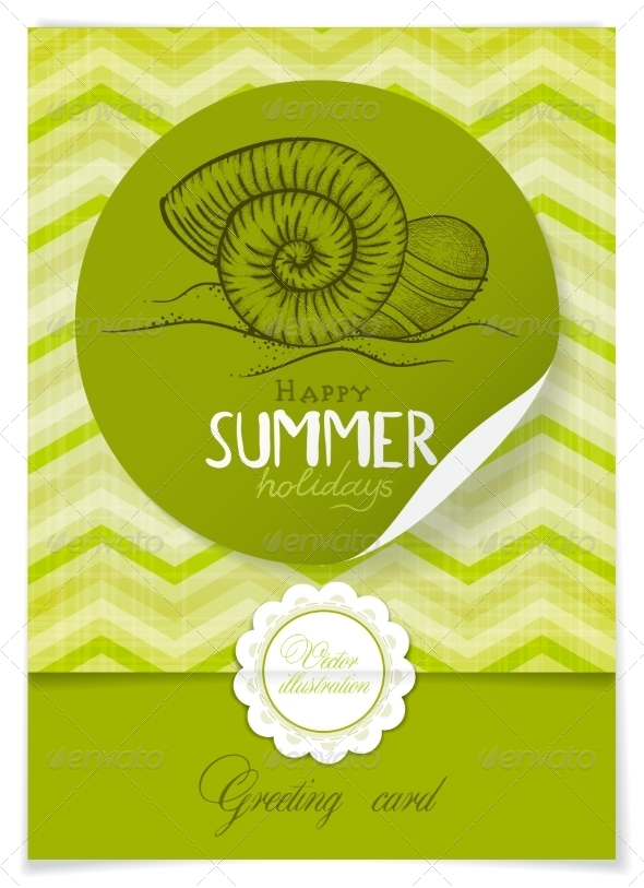 GraphicRiver Greeting Card Design Template 7855122
