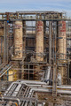 Distillation Towers in an Oil Refinery - PhotoDune Item for Sale