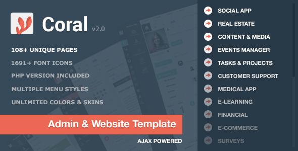 CORAL - App & Website Startup KIT