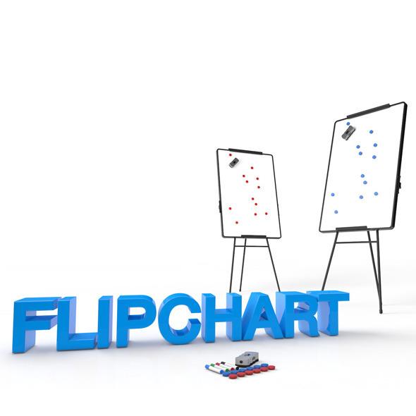 3DOcean Flipchart 7855216