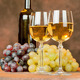 wine cups and grape - PhotoDune Item for Sale