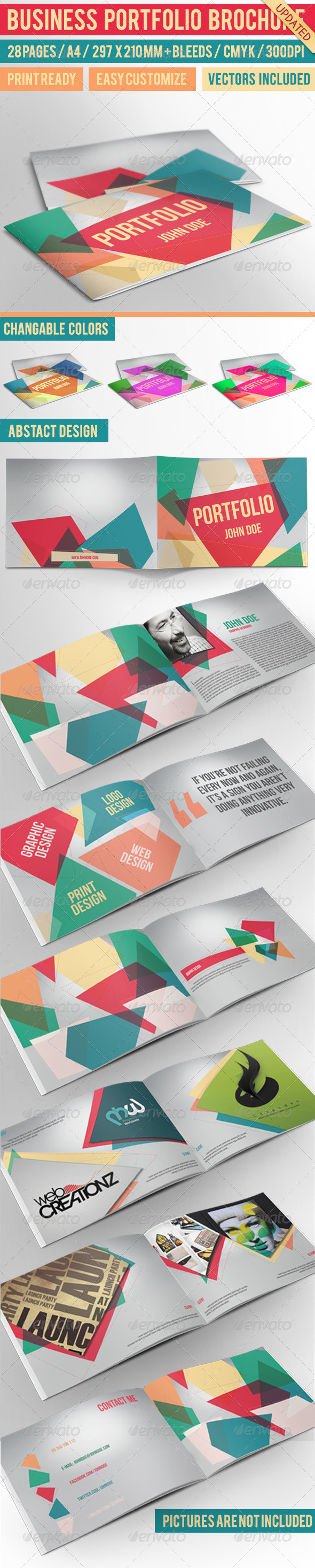 Business Portfolio Brochure