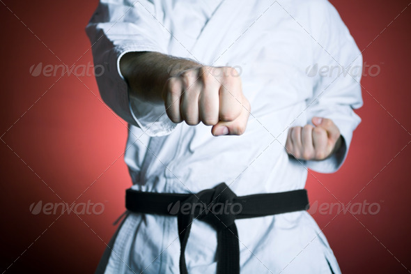 Stock Photo - PhotoDune Karate punch 803405